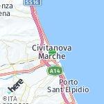 Map for location: Civitanova Marche, Italy