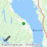 Map for location: Flateby, Norway