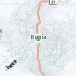 Map for location: Bunia, Democratic Republic Congo