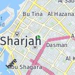 Map for location: Al Yarmook, United Arab Emirates