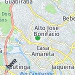 Map for location: Vasco da Gama, Brazil