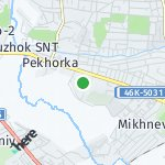 Map for location: Malakhovka, Russia