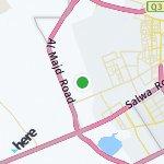 Map for location: Al Rayyan, Qatar