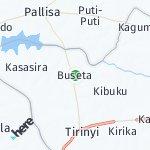 Map for location: Buseta, Uganda