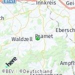 Map for location: Schildorn, Austria