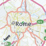 Map for location: Rome, Italy