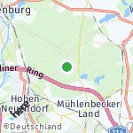 Map for location: Birkenwerder, Germany