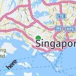 Map for location: Singapore, Singapore
