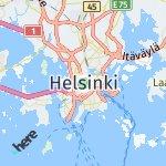 Map for location: Helsinki, Finland