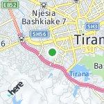Map for location: Njësia Bashkiake 5, Albania
