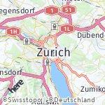 Map for location: Zurich, Switzerland