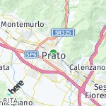 Map for location: Prato, Italy