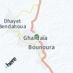 Map for location: Ghardaïa, Algeria