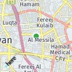 Map for location: Al Messila, Qatar
