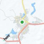 Map for location: Jk, Brazil