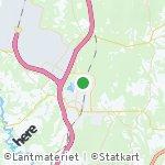 Map for location: Jessheim, Norway