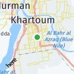 Map for location: Khartoum, Sudan