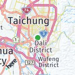 Map for location: Taichung City, Taiwan