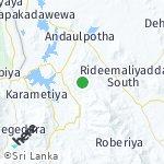Map for location: Mahagama, Sri Lanka