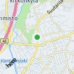 Map for location: Suutarila, Finland