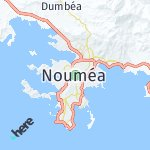 Map for location: Nouméa, New Caledonia