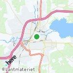 Map for location: Orebro, Sweden