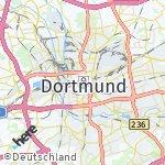 Map for location: Dortmund, Germany