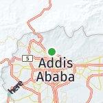 Map for location: Wereda 11, Ethiopia