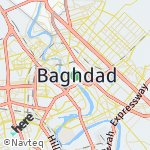 Map for location: Baghdad, Iraq