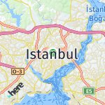 Map for location: Istanbul, Turkey