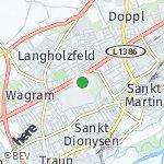 Map for location: Sankt Dionysen, Austria
