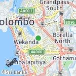 Map for location: Suduwella, Sri Lanka