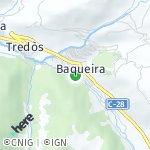 Map for location: Baquèira, Spain