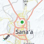 Map for location: Ath'Thaorah, Yemen